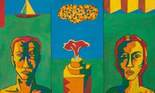 Moeen Faruqi: Telling stories through art