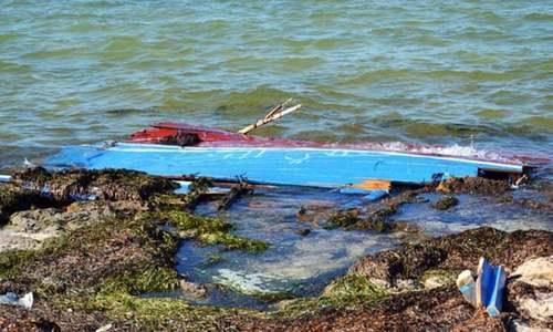 جامشورو: دریائے سندھ میں کشتی الٹنے سے 4 افراد جاں بحق