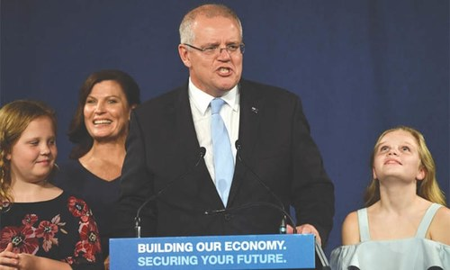 Conservatives pull off an unexpected win in Australian poll
