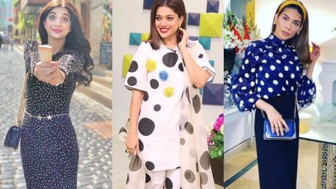 Polka dots are back and we've got proof