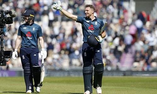 پانچواں ون ڈے:  انگلینڈ کی پاکستان کے خلاف ٹاس جیت کر بیٹنگ