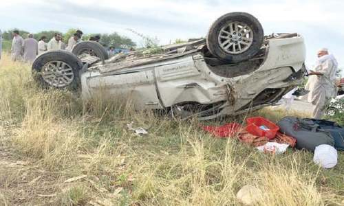 Two die on road in Mansehra