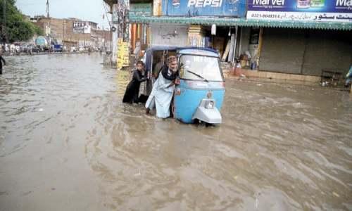 Woman killed as rain lashes parts of KP