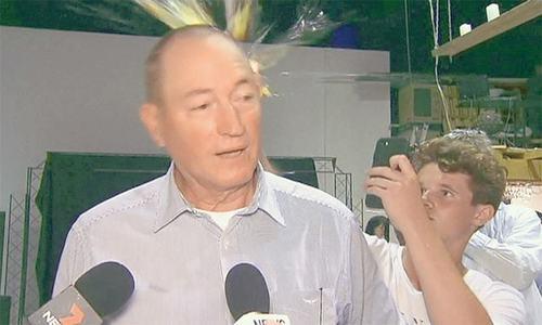 انڈا کھانے والے آسٹریلیا کے معتصب سینیٹر الیکشن میں ناکام