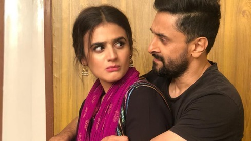 Hira and Mani are romancing on screen yet again in an upcoming Eid telefilm