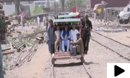 کراچی سرکلر ریلوے کی بحالی کا کام تیزی سے جاری