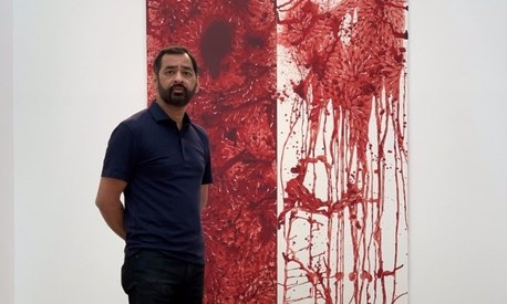 Pakistani artist Imran Qureshi's solo show opens in Paris