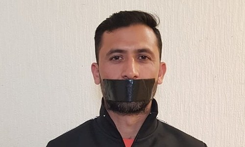 Junaid Khan shares cryptic photo after being axed from World Cup squad
