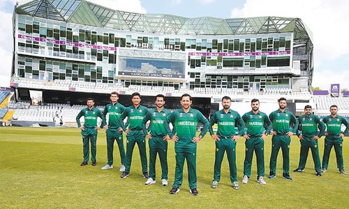 Pakistan's World Cup kit unveiled