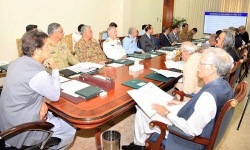 قومی سلامتی کمیٹی کا اجلاس،اقتصادی مسائل کے حل کی کوششوں کی حمایت کا اعادہ
