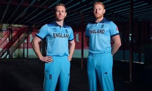 ورلڈ کپ کے لیے انگلینڈ کی کِٹ کی رونمائی