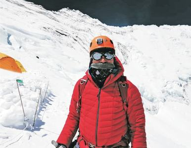 Mirza Ali from GB scales Mount Everest