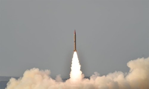 Shaheen-II ballistic missile training launch successful: ISPR