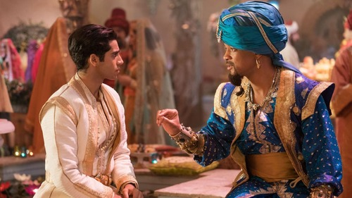 Will Smith was 'fearful' about playing Genie in the Aladdin reboot