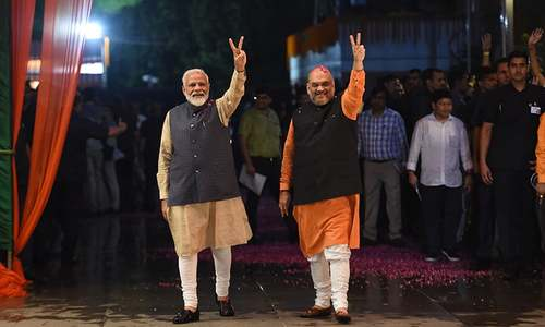 'Next 5 years of Modi's term will be the age of BJP's expansion,' vows Indian PM in victory speech