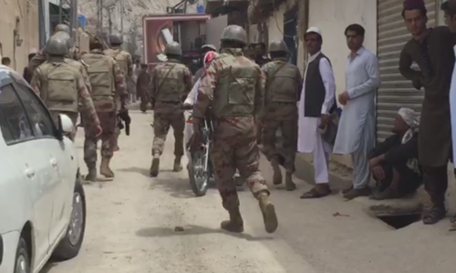 2 dead, 15 wounded in blast inside Quetta mosque during Friday prayers