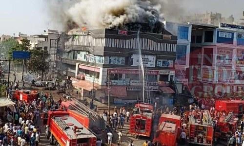 بھارت: کوچنگ سینٹر میں آگ لگنے سے 15 طلبہ ہلاک