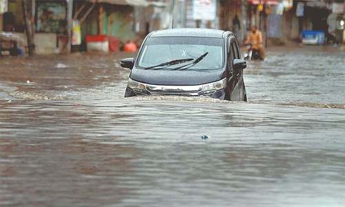 Heavy rain hits parts of Punjab, KP