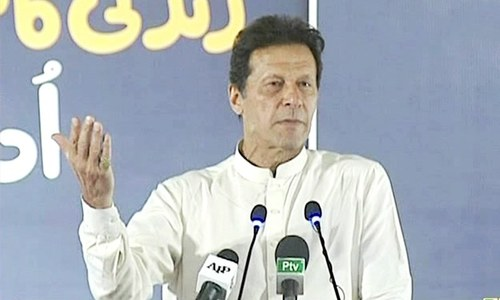 Imran rejects MQM-P's demand for division of Sindh
