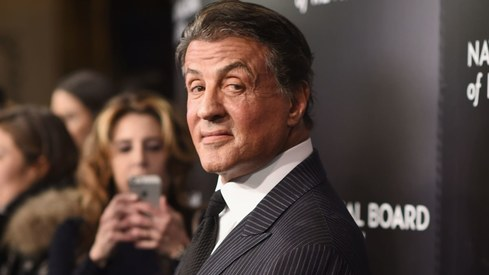 Sylvester Stallone says he never expected to make it in the movies