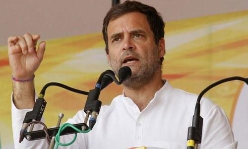 راہول گاندھی کے پارٹی صدارت سے مستعفی ہونے کی 'اطلاعات'