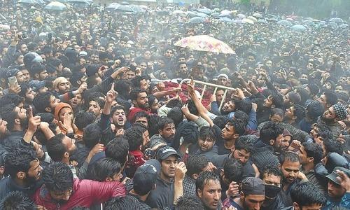 بھارتی فورسز سے 'جھڑپ' میں اہم کشمیری حریت پسند شہید