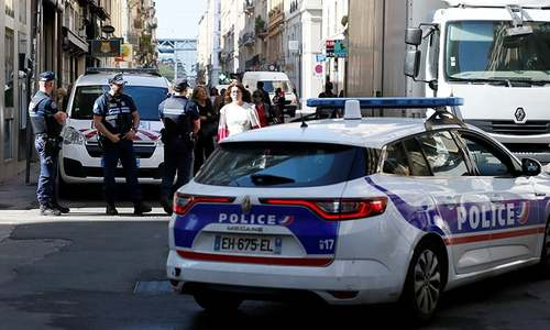 French police hunt suspect after Lyon bomb attack