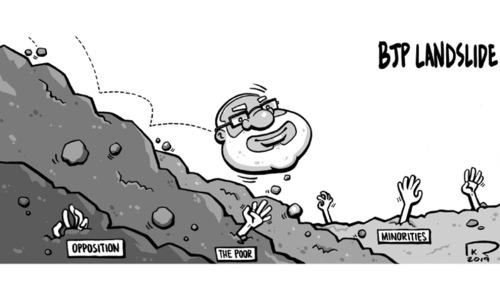 Cartoon: 26 May, 2019