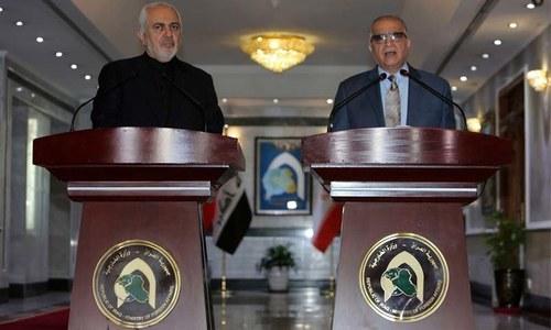 عراق و ایران کا امریکی جارحیت کا بھرپور جواب دینے کا عزم