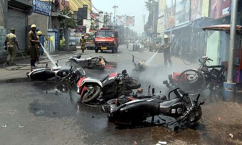 Election violence continues in India's Bengal