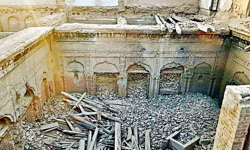 'Historical Guru Nanak palace' partially demolished by locals in Narowal