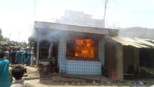 Riots erupt as Mirpurkhas vet booked in blasphemy case