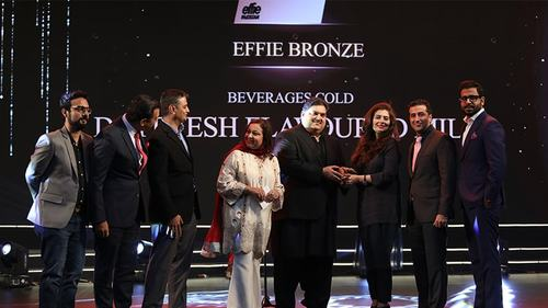 Dayfresh wins a Bronze Effie Award for its flavoured milk product
