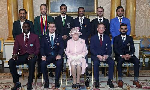 In pictures: Captains rub shoulders with royals ahead of World Cup 2019