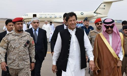 PM Imran in Saudi Arabia to attend OIC summit