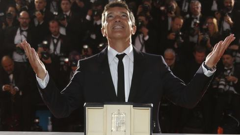 Antonio Banderas reflects on his late-life Cannes win