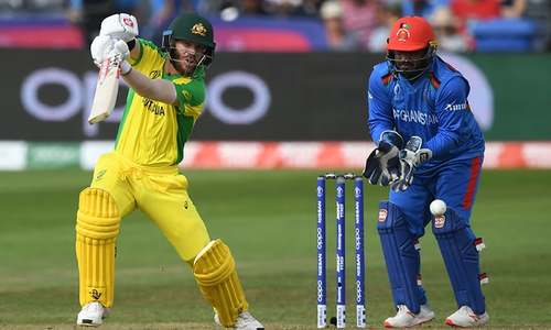 Australia's Warner stars in Afghan World Cup romp