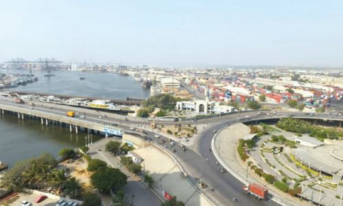 With rising trade volumes, Karachi's port chokes on traffic