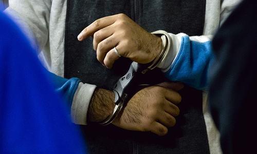 Constable held for molesting boy
