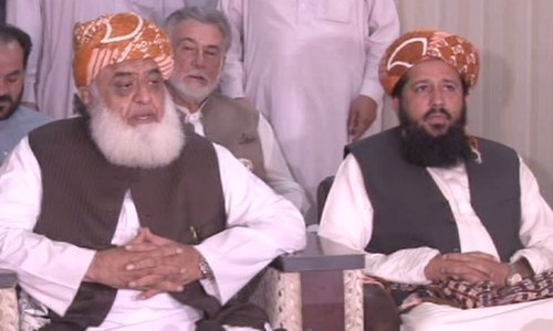 JUI-F won't tolerate PTI govt any more: Fazl
