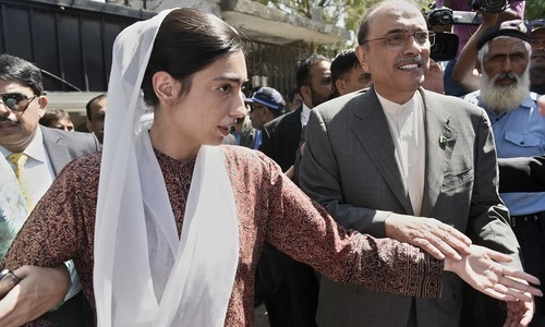 PPP plans 'forceful' agitation in case of Zardari's arrest