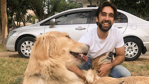 Ali Rehman Khan urges dog owners to treat their pet like family