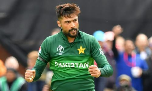 Amir on top of the world despite Pakistan defeat