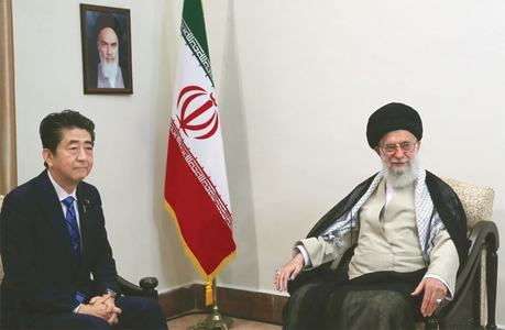 Iran rejects talks with US despite Japan PM's mission