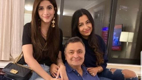 Mawra Hocane meets Rishi Kapoor in New York