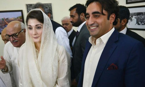 Maryam Nawaz, Bilawal to meet at Raiwind tomorrow