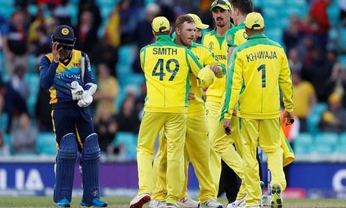 ورلڈ کپ:شان دار آغاز کے باوجود سری لنکا کو آسٹریلیا سے مایوس کن شکست