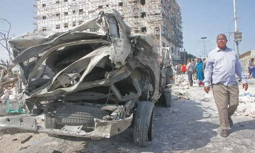 Car bomb kills eight in Somali capital