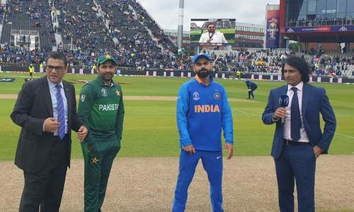 Pakistan win the toss, opt to field first against India