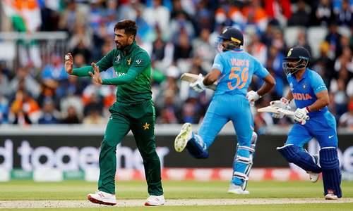 Pakistan start their innings in rain-hit match against India